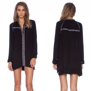 Tularosa Wyatt Long Sleeve Black Dress